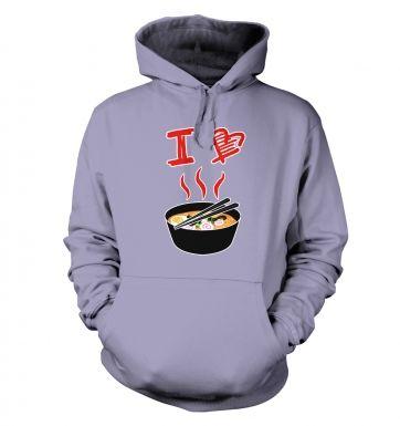 I Love Ramen  hoodie