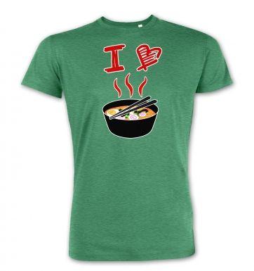 I Love Ramen  premium t-shirt