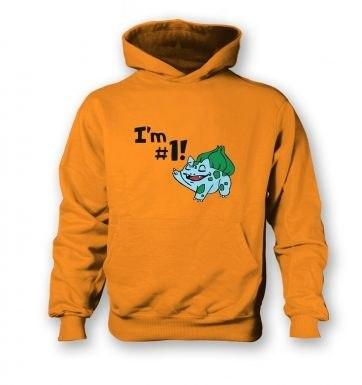 Im #1!  kids hoodie