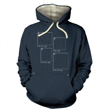 Image Not Found 3 Wolf Moon hoodie (premium)