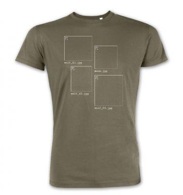 Image Not Found 3 Wolf Moon premium t-shirt