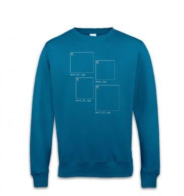 Image Not Found 3 Wolf Moon sweatshirt