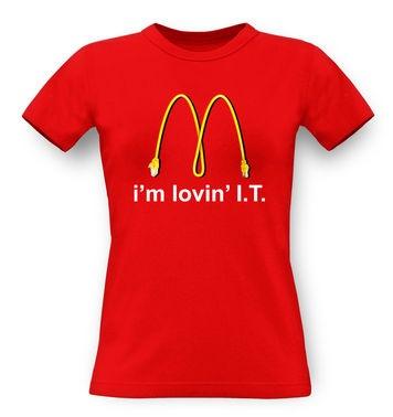 I'm Lovin' I.T. classic women's t-shirt