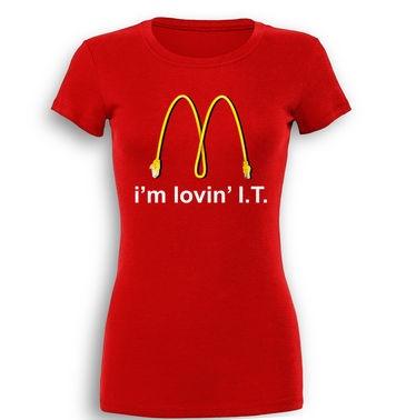 I'm Lovin' I.T. premium women's t-shirt