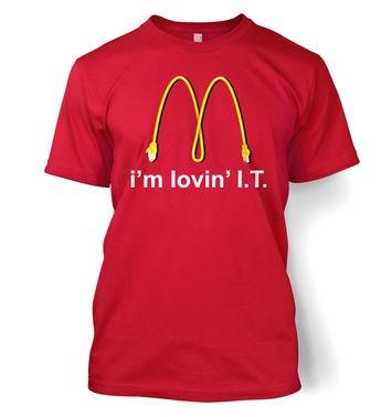 I'm Lovin' I.T. t-shirt