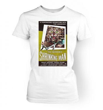 Incredible Shrinking Man  womens t-shirt