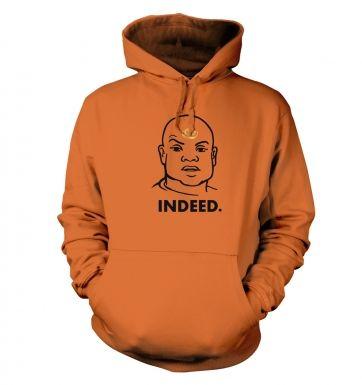Indeed Tealc hoodie