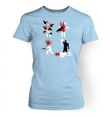 InGame Deaths   womens t-shirt