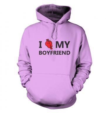 I real heart my boyfriend hoodie