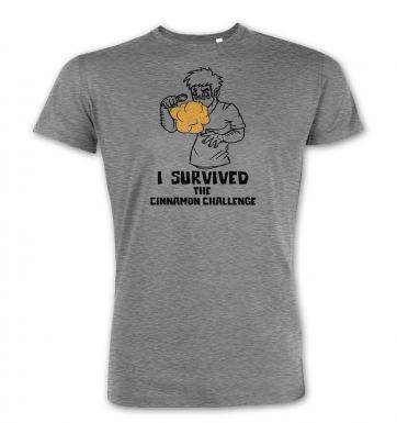 I Survived The Cinnamon Challenge  premium t-shirt