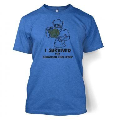 I Survived The Cinnamon Challenge  t-shirt