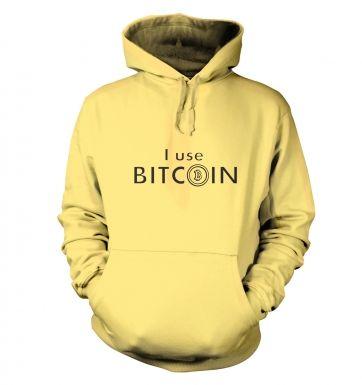 I use bitcoin hoodie