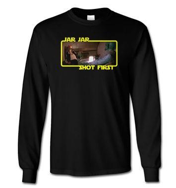 Jar Jar Shot First long-sleeved t-shirt