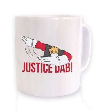 Justice Dab mug