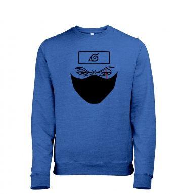 Kakashi Face heather sweatshirt