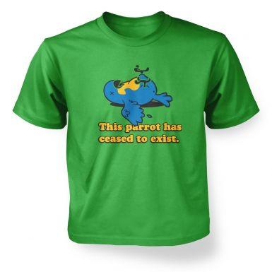 Dead Parrot kids' t-shirt