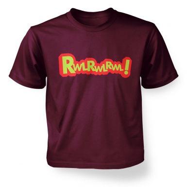 rwlrwl kids t-shirt