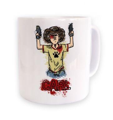 with guns mug