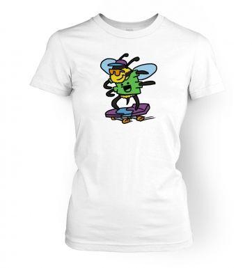 Killer Bee!   womens t-shirt