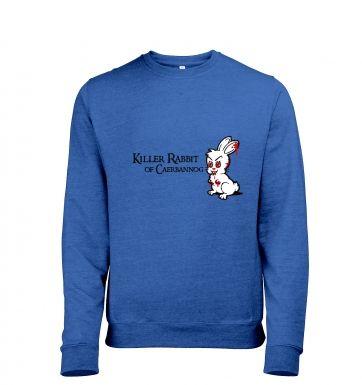 Killer Rabbit of Caerbannog heather sweatshirt
