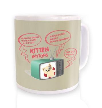 Kitten Mittons mug