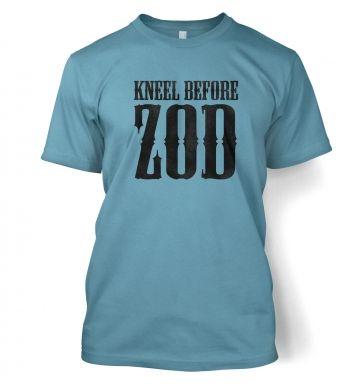 Kneel before Zod  t-shirt