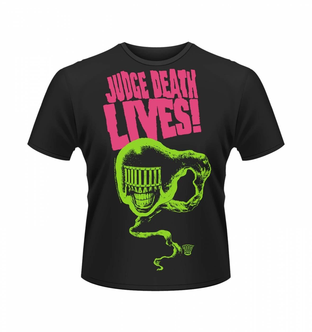 OFFICIAL 2000AD Judge Death Lives! t-shirt