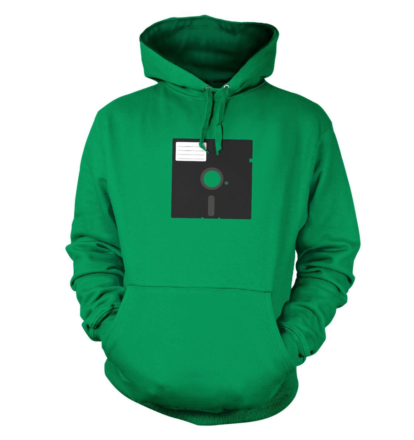 5.25 Inch Floppy Disk hoodie - stylish retro hoodie