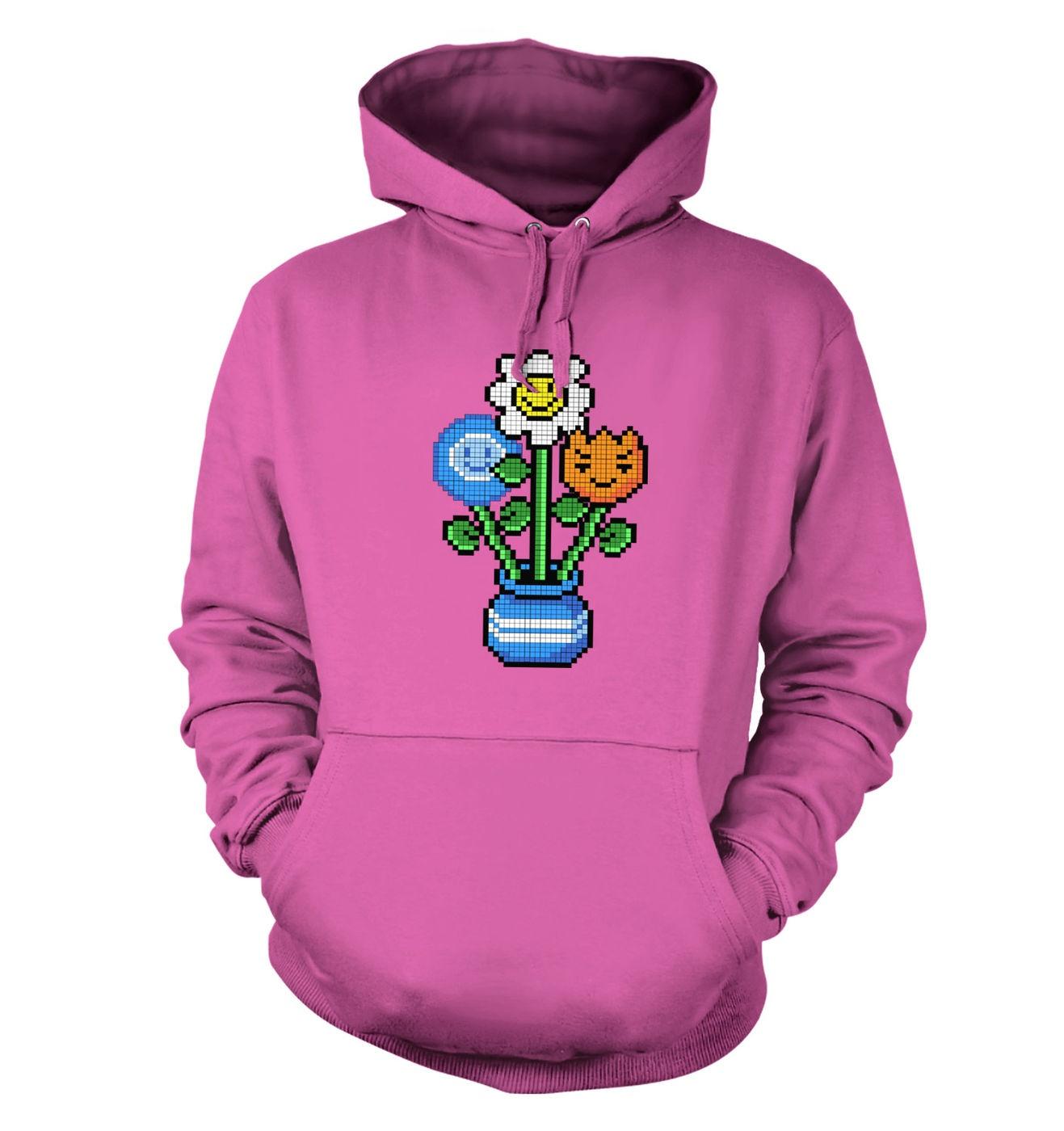 8-Bit Bouquet hoodie