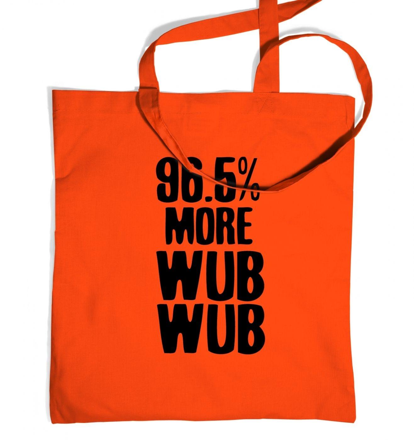 96.5% More WubWub tote bag