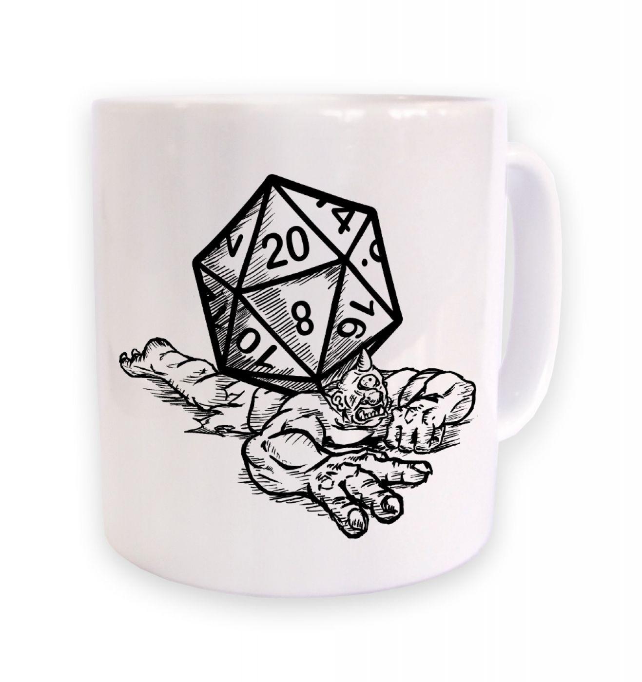 Critical Hit (cyclops) mug