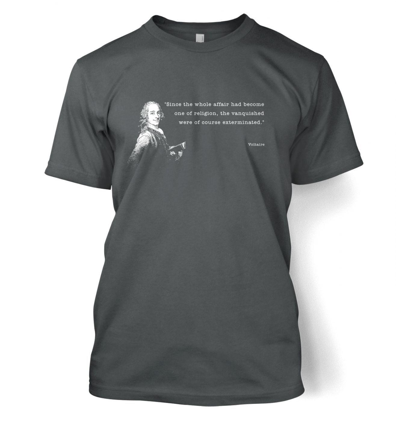Affair Of Religion Voltaire t-shirt