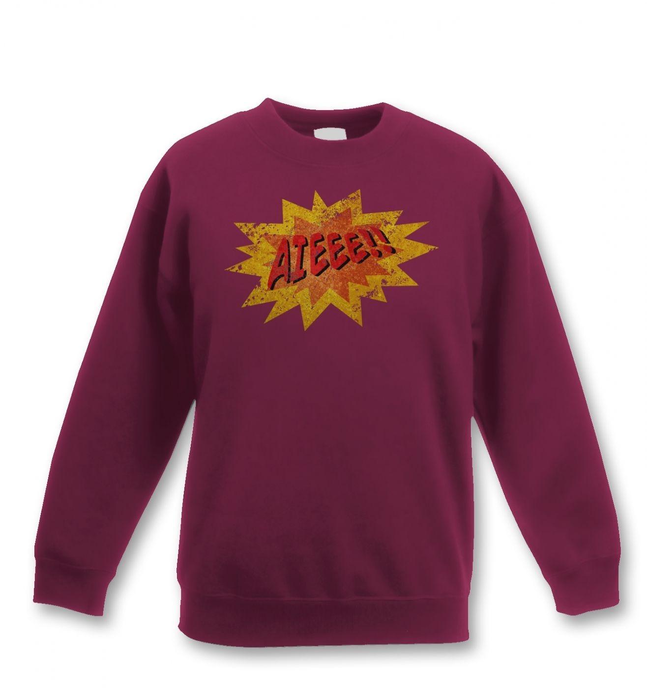Aieee kids' sweatshirt