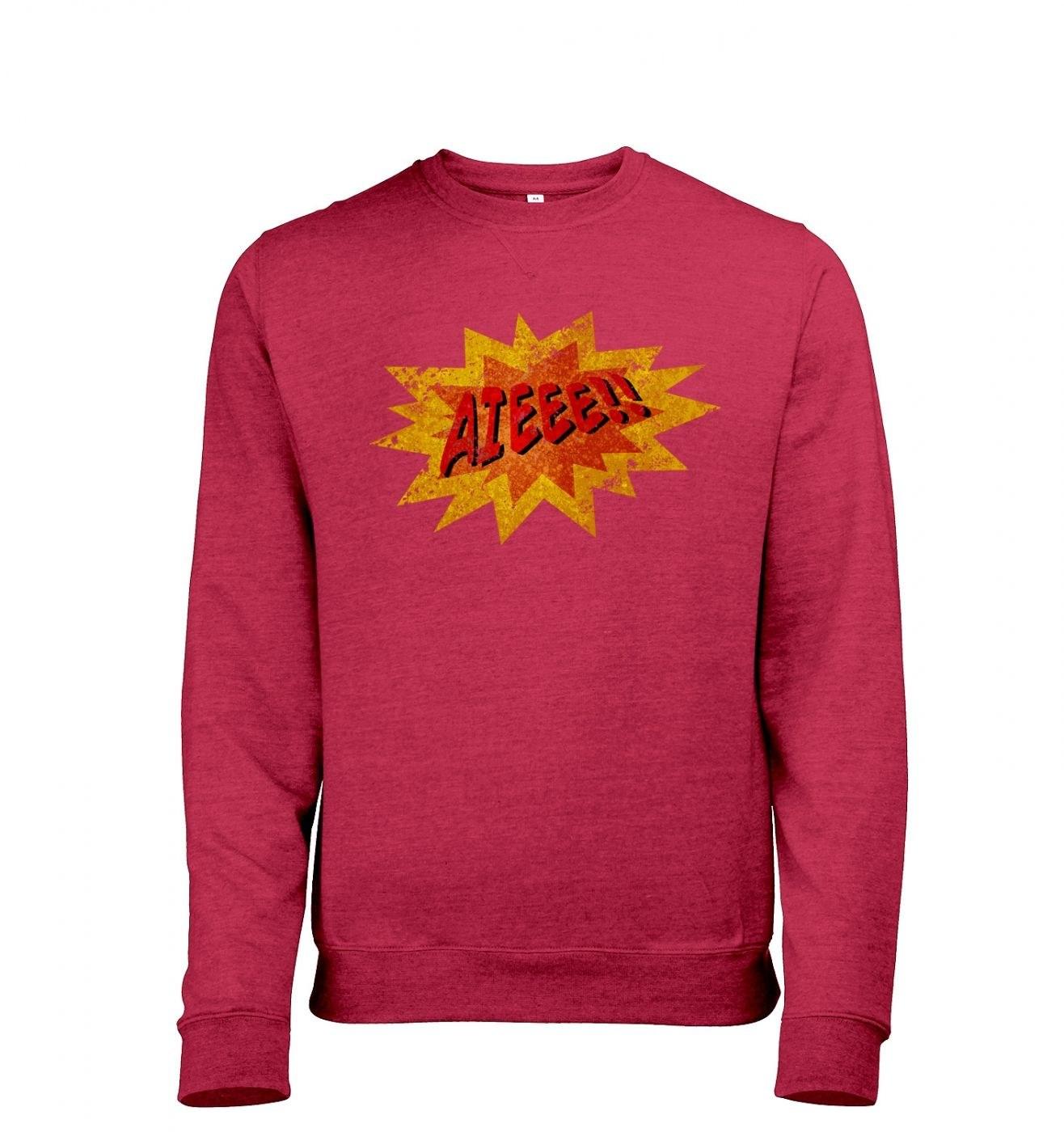 Aieee men's heather sweatshirt