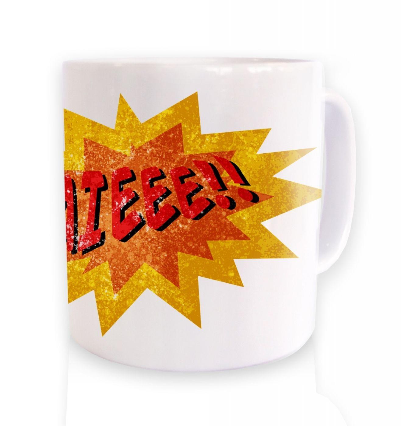 Aieee ceramic coffee mug