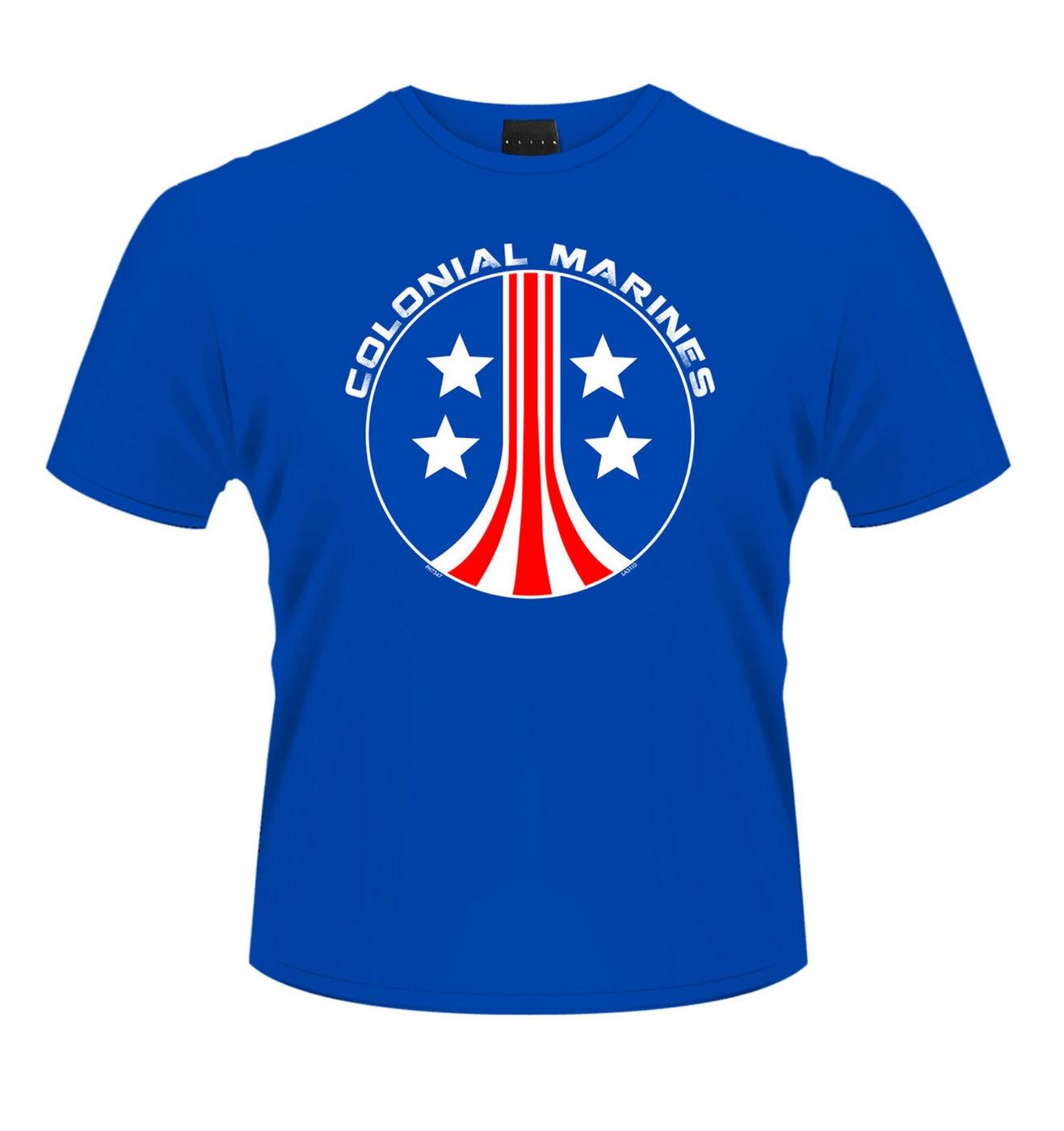 OFFICIAL Aliens Colonial Marines (blue) men's t-shirt