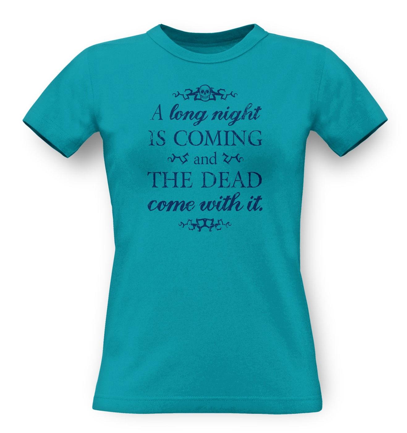 A Long Night classic womens t-shirt by Something Geeky