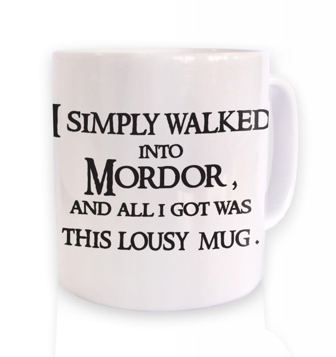 A Mug From Mordor mug