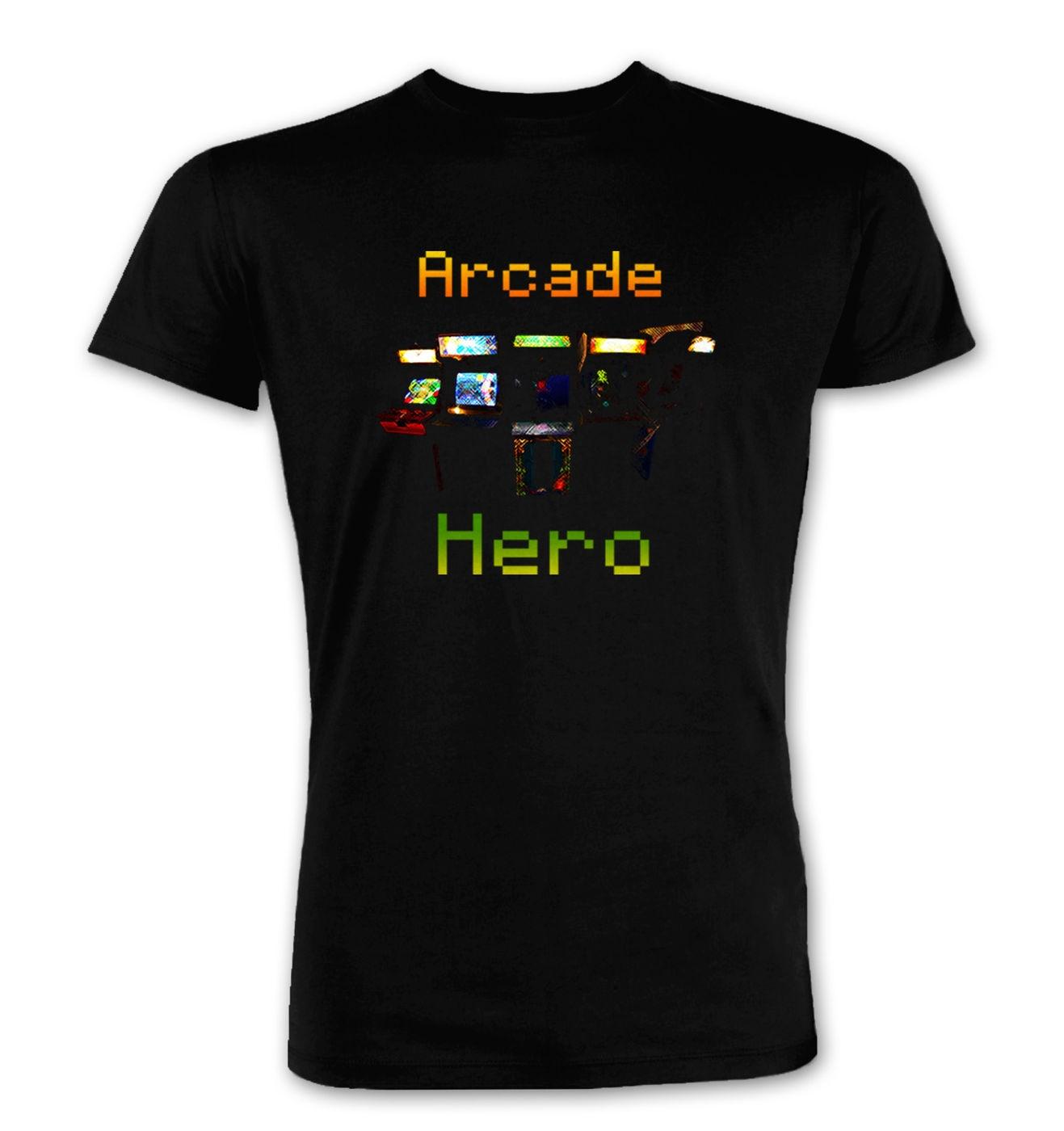 Arcade Hero premium t-shirt by Something Geeky