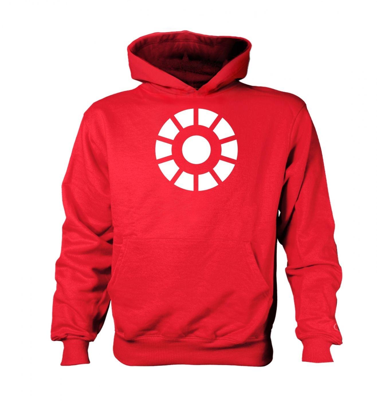 Arc Reactor kids' hoodie (contrast)