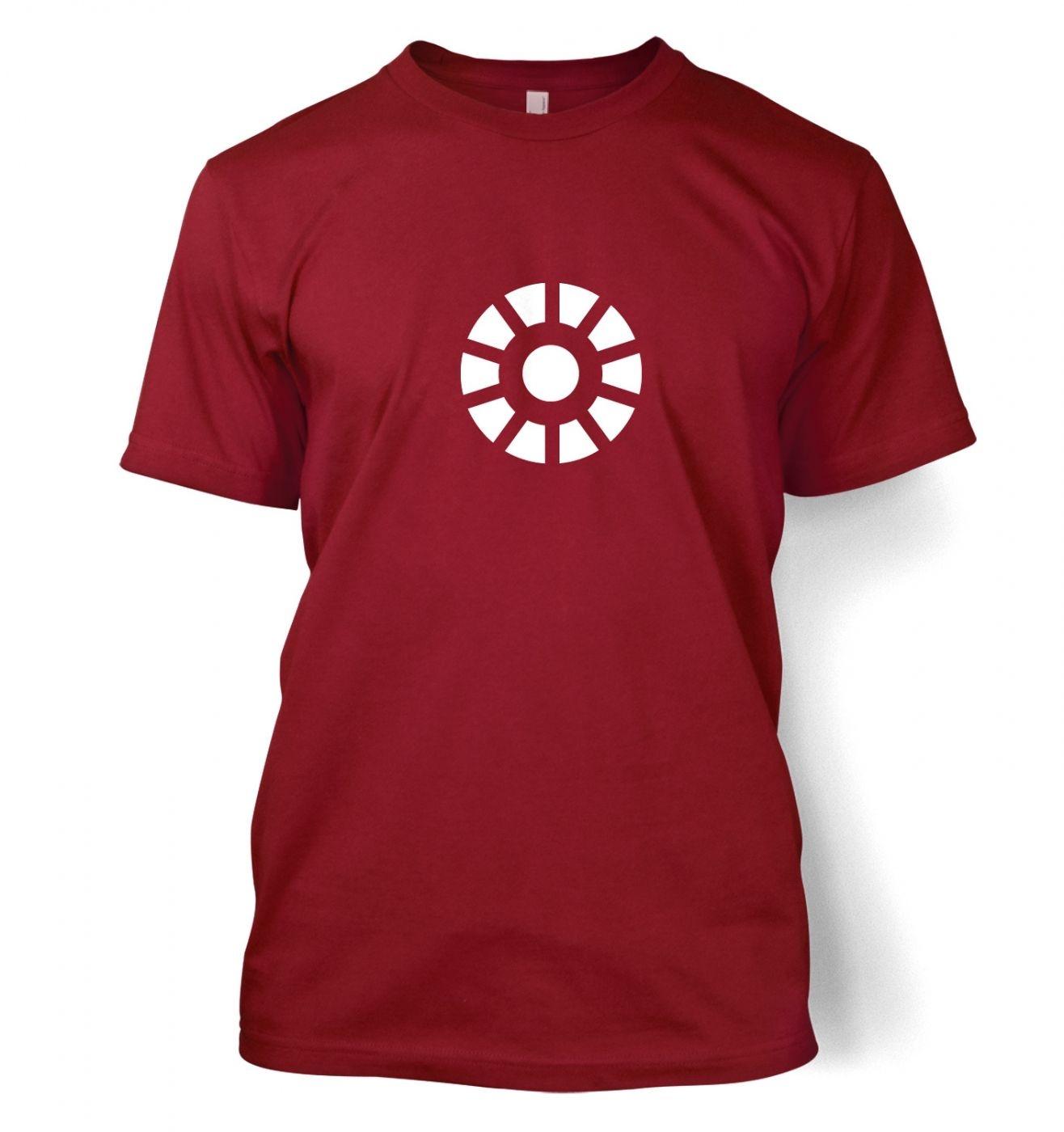 Arc Reactor men's t-shirt