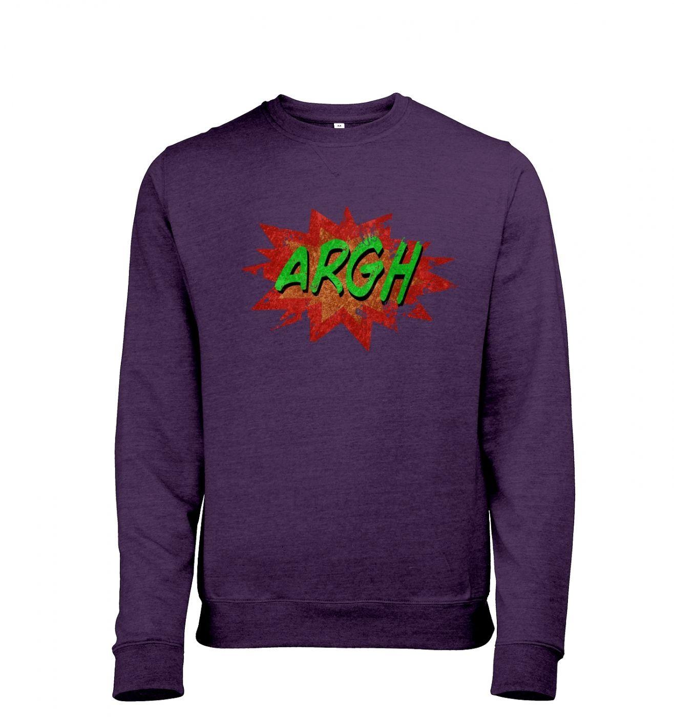 Argh Men's heather sweatshirt