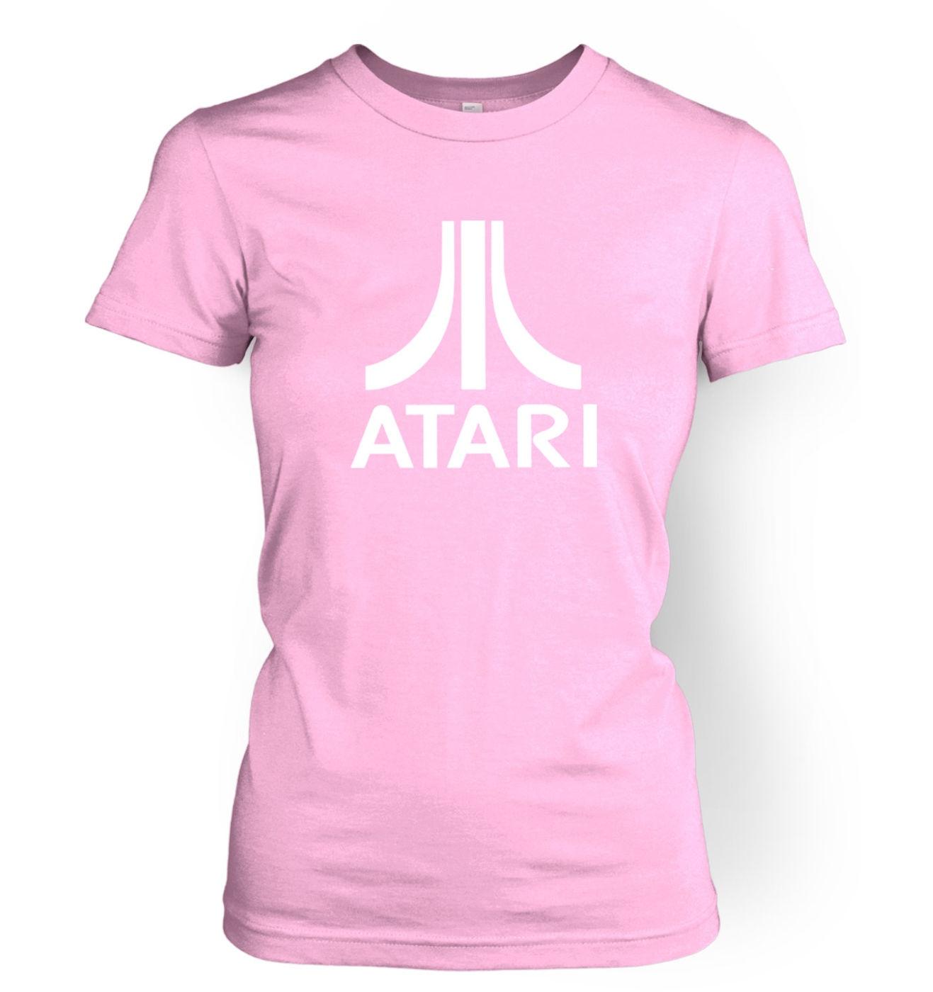 Atari Logo women's fitted t-shirt