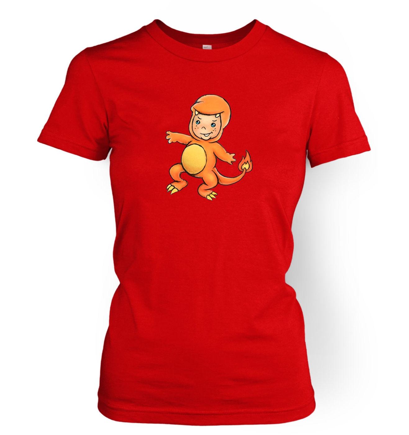 37373f2e Baby Charmander women's t-shirt - Somethinggeeky