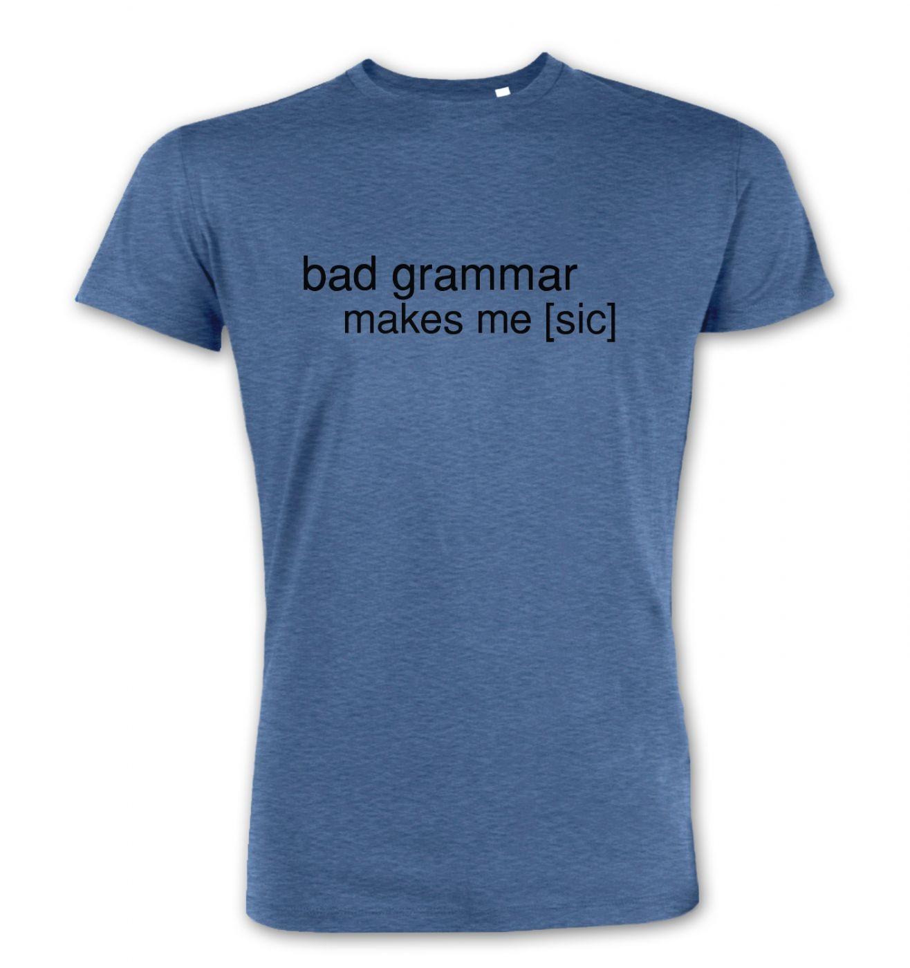 Bad Grammar men's Premium t-shirt