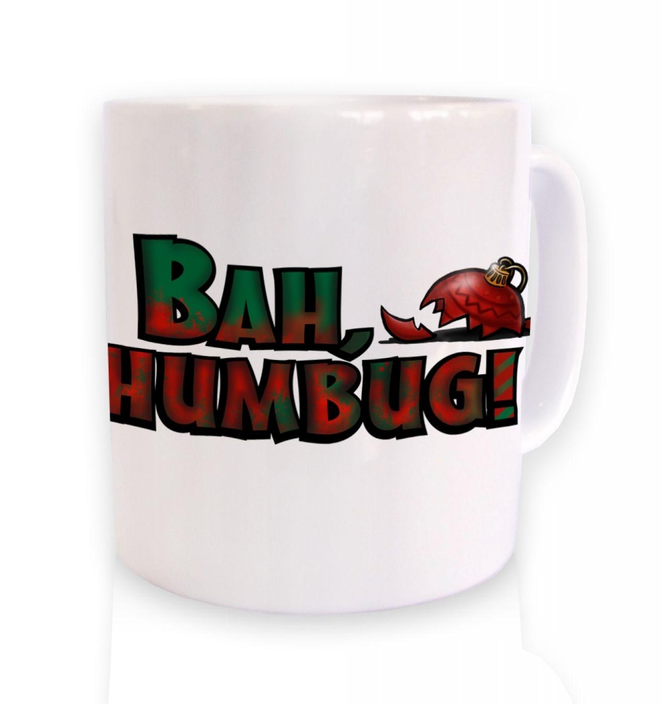 Bah humbug! ceramic mug