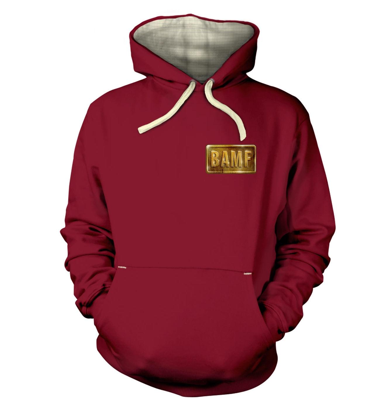 BAMF McCree Badge premium hoodie by Something Geeky