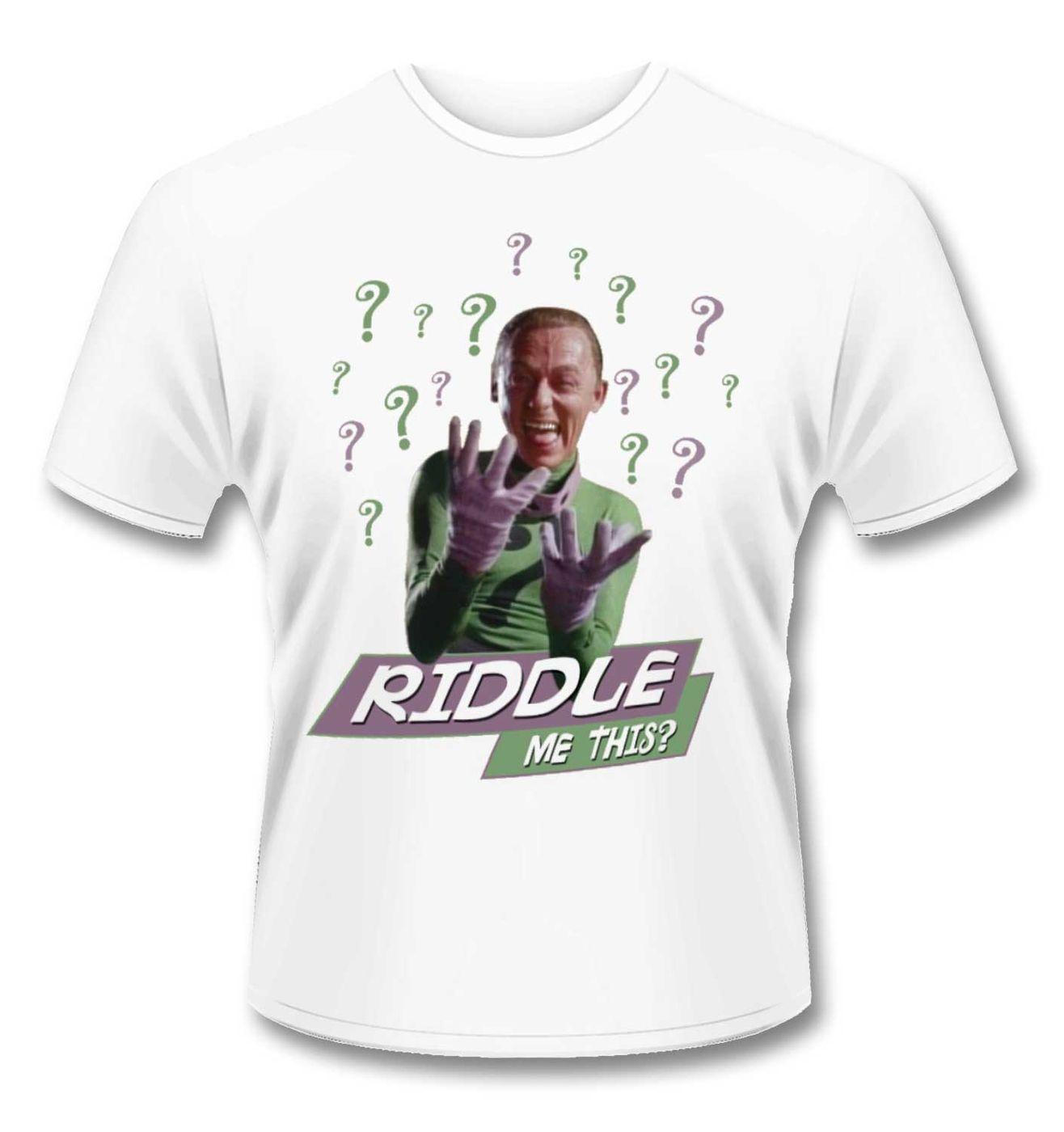 Batman Riddler Riddle Me This t-shirt - Official DC Originals