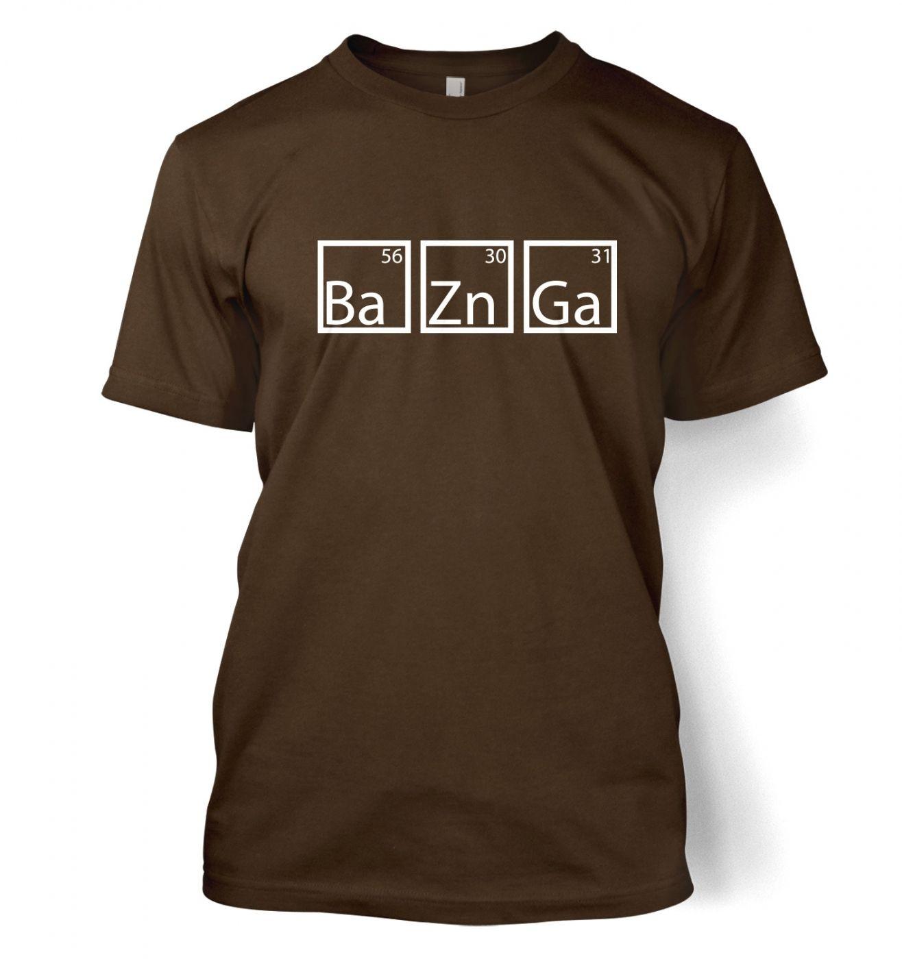 BaZnGa men's t-shirt
