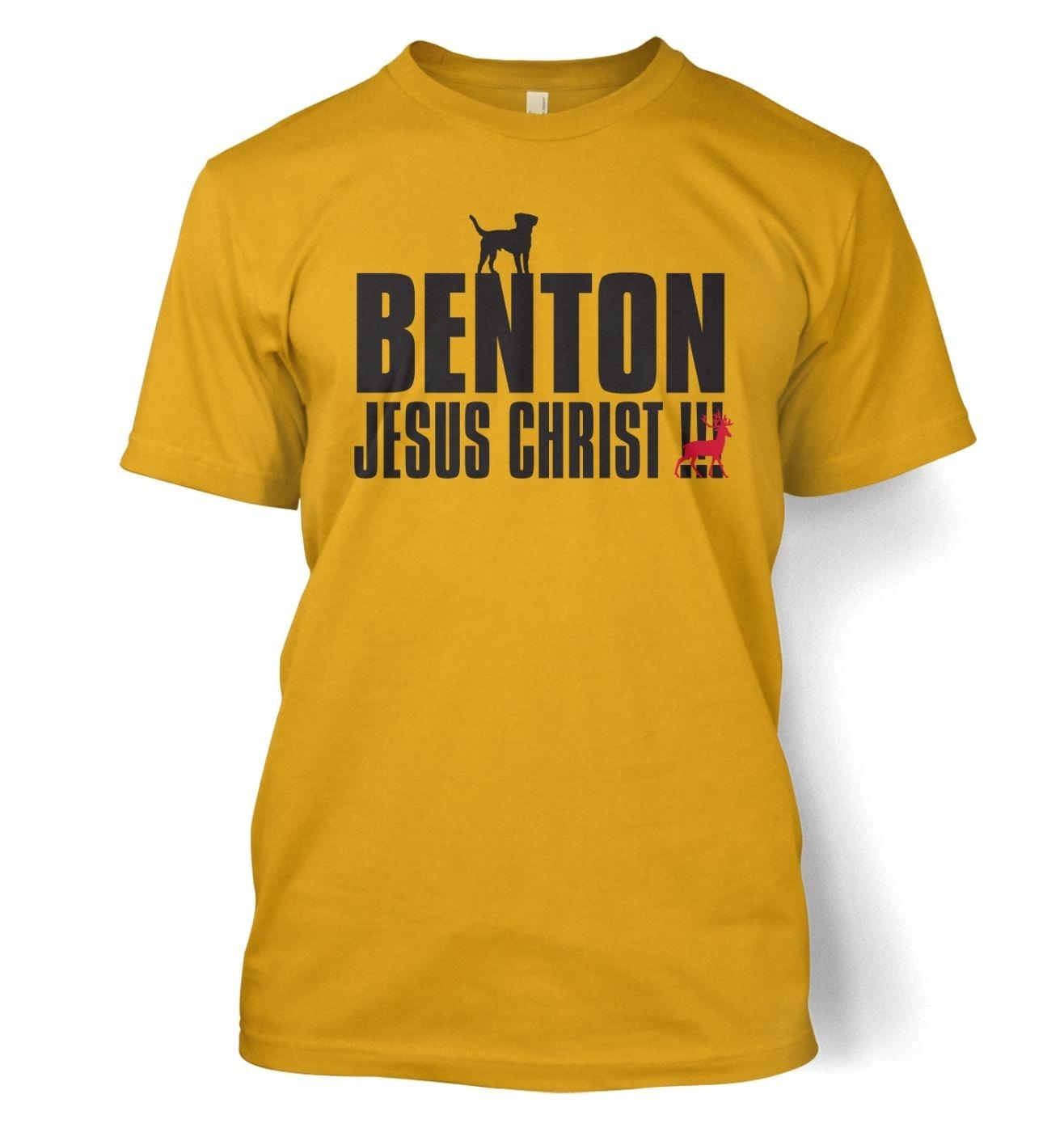 Benton Dog Chasing Deer t-shirt